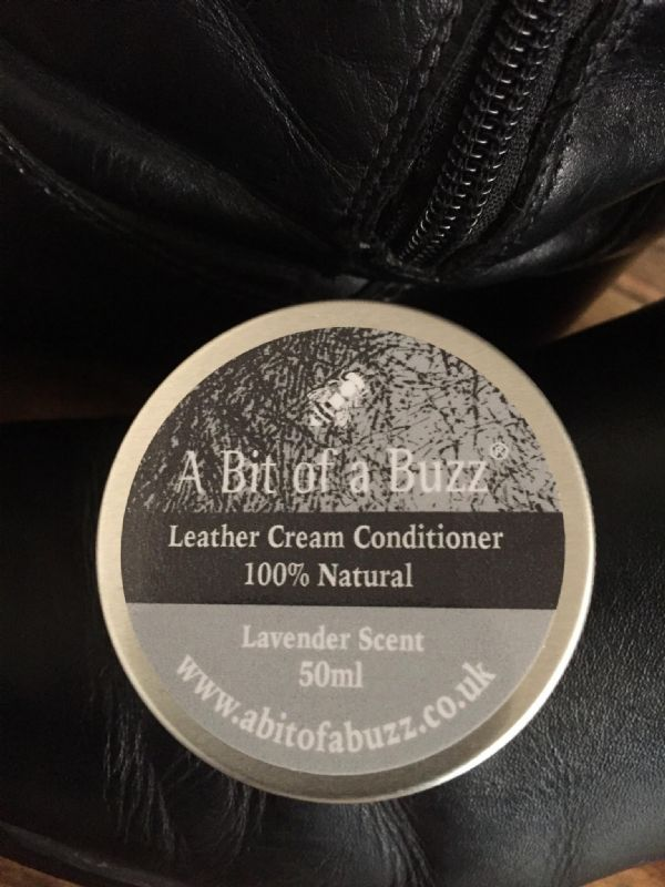 Leather Cream Conditioner - 100% Natural 50ml